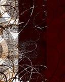 Decoración Textured del remolino Imagen de archivo libre de regalías