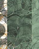 Decoración Textured del remolino Imágenes de archivo libres de regalías