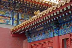 Decoración tradicional china imagenes de archivo
