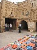 Un cuadrado en el Medina. Tozeur. Túnez Imágenes de archivo libres de regalías