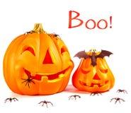 Decoración tradicional de Halloween Imagen de archivo