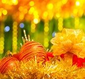 Decoración tradicional de la Navidad Foto de archivo libre de regalías