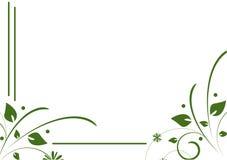 Decoración verde stock de ilustración