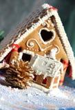 Decoración y dulces de la Navidad Fotos de archivo