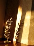 Decoración y luz Fotografía de archivo