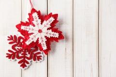 Decoraci?n de la Navidad Foto de archivo libre de regalías