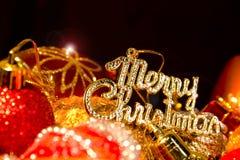 Decoraci?n de la Navidad Imagenes de archivo