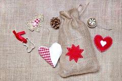 Decoraci?n de la Navidad fotos de archivo libres de regalías