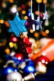 Decoración 2 del árbol de navidad Imagen de archivo