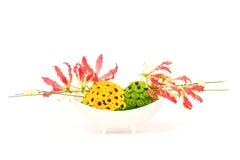 Decoración de la flor Fotos de archivo libres de regalías