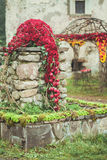 Decoración de la flor de la boda Fotos de archivo
