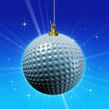 Decoración de la pelota de golf Imagenes de archivo