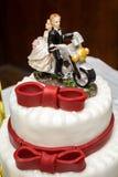 Decoración de la torta Imágenes de archivo libres de regalías