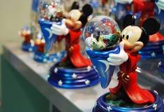 Decoración de Mickey y de Minnie Mouse Imagen de archivo libre de regalías
