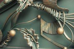 Decoración del hierro labrado Imagenes de archivo