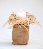 Decoración del huevo de Pascua Foto de archivo libre de regalías