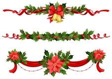 Decoración festiva de la Navidad Fotografía de archivo libre de regalías