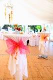 Decoración para una boda Imágenes de archivo libres de regalías