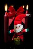 Decoración roja festiva de la Navidad Fotografía de archivo libre de regalías