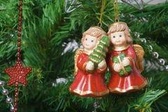 Decoraciones 6 de Navidad Foto de archivo libre de regalías
