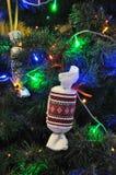 Decoraciones Año Nuevo y la Navidad tree_2 Fotografía de archivo libre de regalías