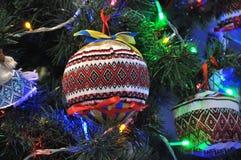 Decoraciones Año Nuevo y la Navidad tree_8 Fotos de archivo libres de regalías