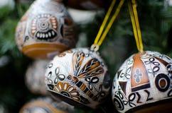 Decoraciones alegres de la Navidad - 2 Fotografía de archivo libre de regalías