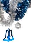Decoraciones brillantes de la Navidad Fotografía de archivo