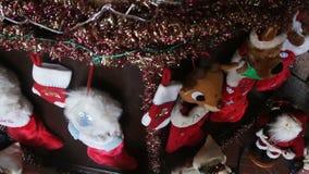 Decoraciones caseras de la Navidad metrajes