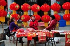 Decoraciones chinas 2013 del Año Nuevo Fotografía de archivo libre de regalías