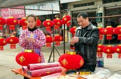 Decoraciones chinas 2013 del Año Nuevo Imagenes de archivo