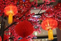 Decoraciones chinas de la linterna del Año Nuevo Fotografía de archivo libre de regalías