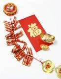 Decoraciones chinas del Año Nuevo Imagen de archivo