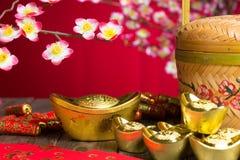 Decoraciones chinas del Año Nuevo Fotos de archivo libres de regalías