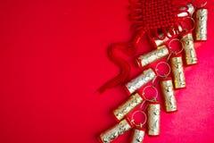 Decoraciones chinas del festival del Año Nuevo Imágenes de archivo libres de regalías