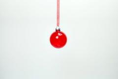 Decoraciones colgantes de la Navidad imagen de archivo