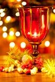 Decoraciones coloridas de la Navidad Fotografía de archivo libre de regalías