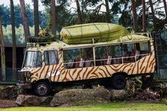 Decoraciones coloridas Safari Park Imágenes de archivo libres de regalías