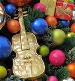 Decoraciones creativas de la Navidad Imagen de archivo