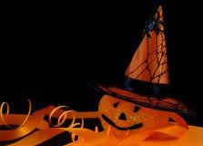 Decoraciones de Halloween Foto de archivo