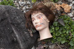 Decoraciones de Halloween Fotos de archivo libres de regalías