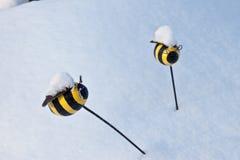 Decoraciones de la abeja Fotografía de archivo libre de regalías