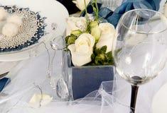 Decoraciones de la boda fotos de archivo libres de regalías