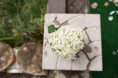 Decoraciones de la boda Foto de archivo
