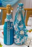 Decoraciones de la boda Fotografía de archivo