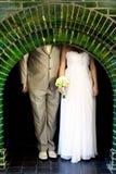 Decoraciones de la boda imagen de archivo