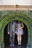 Decoraciones de la boda fotografía de archivo libre de regalías