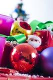 Decoraciones de la bola de la Navidad Imágenes de archivo libres de regalías