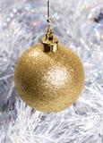 Decoraciones de la chuchería de la Navidad fotos de archivo