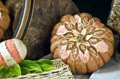 Decoraciones de la fruta y verdura Imagen de archivo